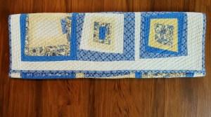 Simple Drawstring Bag - Quilt Roll Step 2