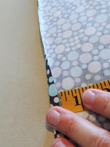 "Simple Drawstring Bag - 1/4"" Fold Down WOF"