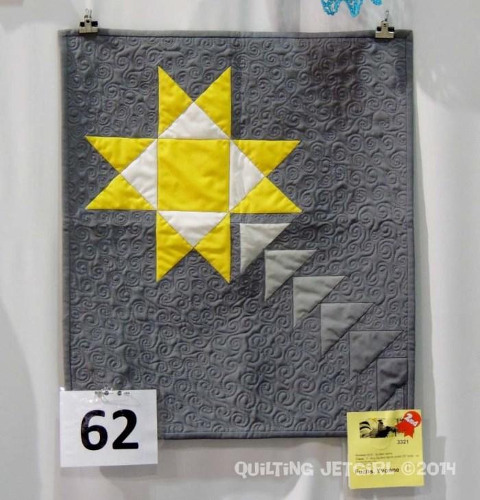 Shooting Star Mini Quilt at Local Fair
