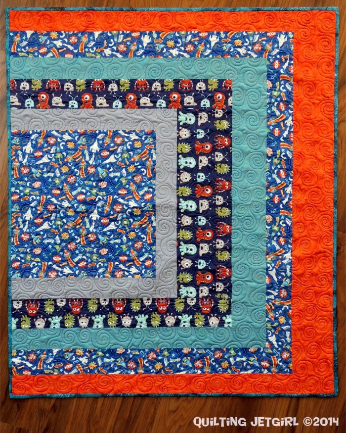 Super Cute Baby Boy Quilt