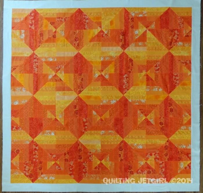 Orange Crush - Flimsy Finish