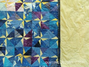 Star Quilt - Piecing and Backing