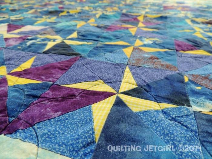 Star Quilt - Detail
