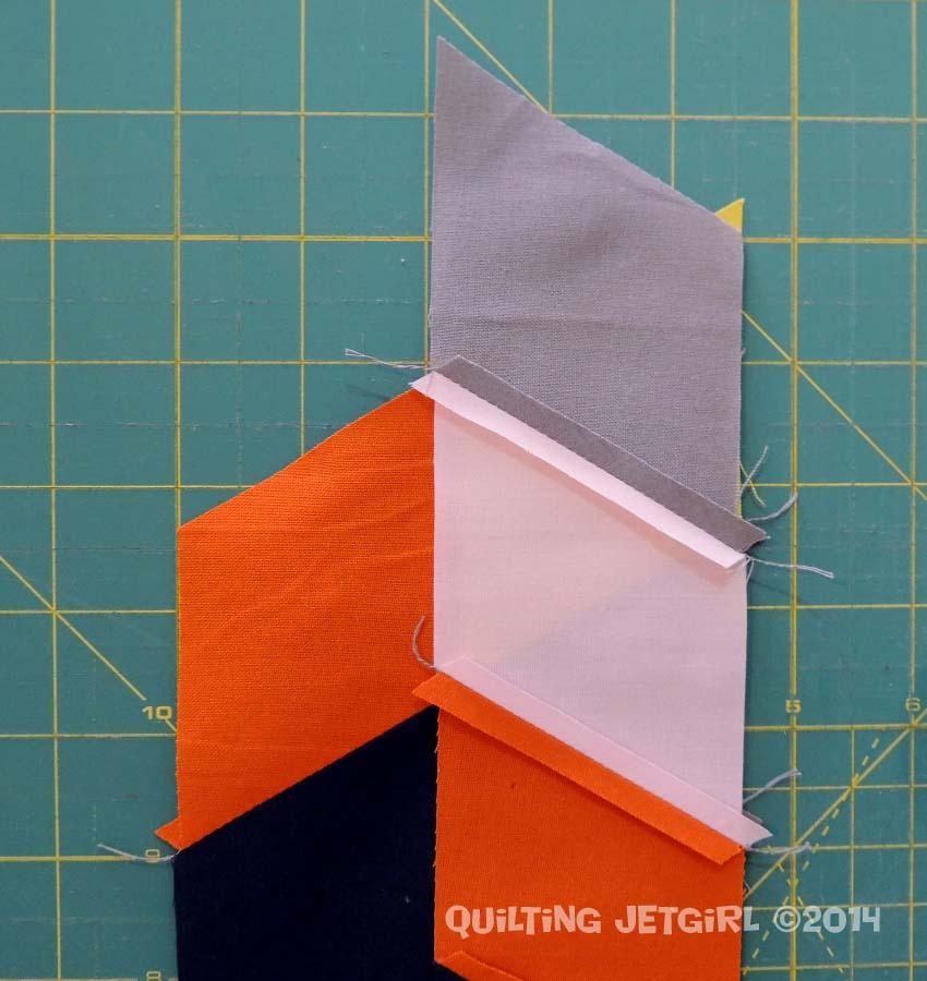 Parallelogram Placemats: Piecing Parallelogram Strips