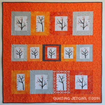 Namibia Trees in Small Quilts