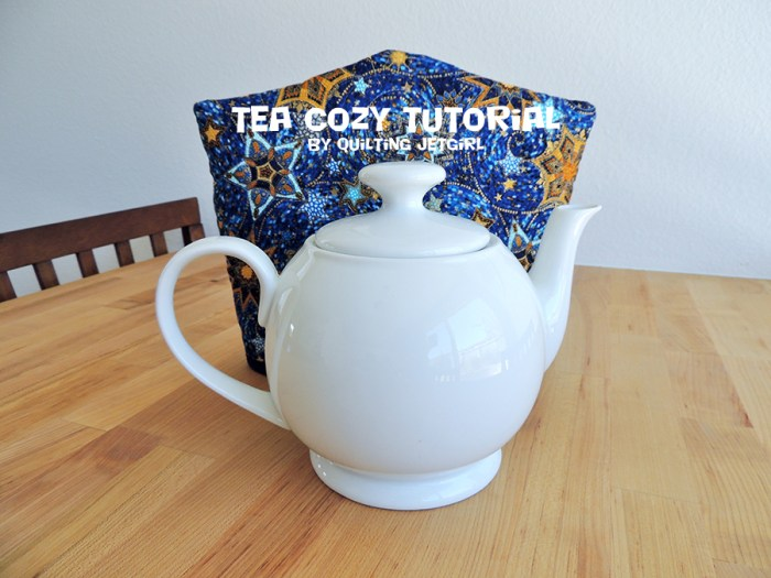 Tea Cozy Tutorial by Quilting Jetgirl