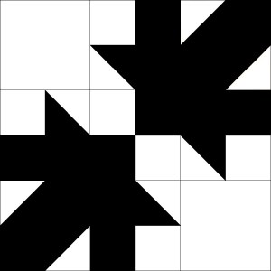 Tessellated Leaf Quilt Block Tutorial