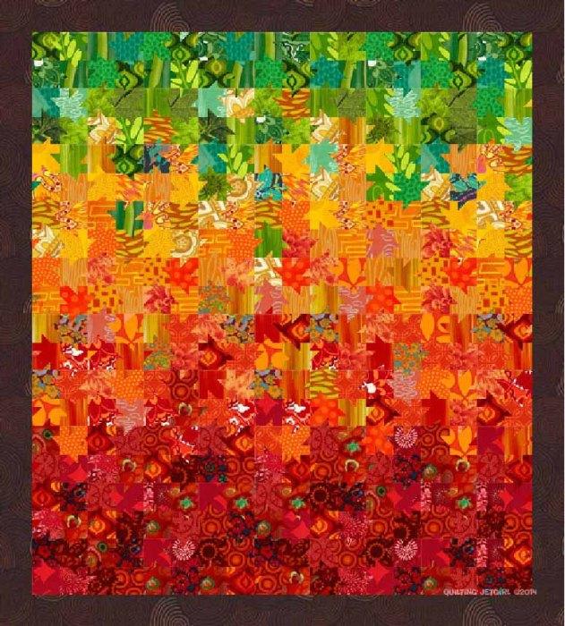 Tessellated Leaves - Design