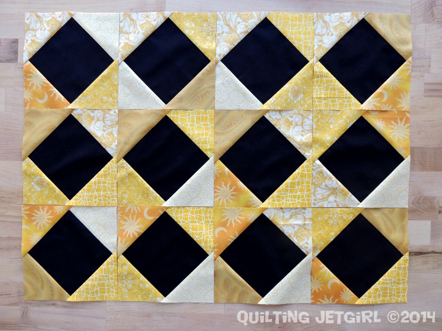 Foothills Mystery Quilt - Square in a Square Blocks