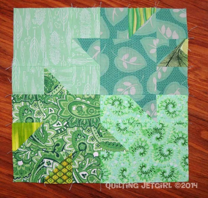Tessellated Leaves - Block 1 of 72