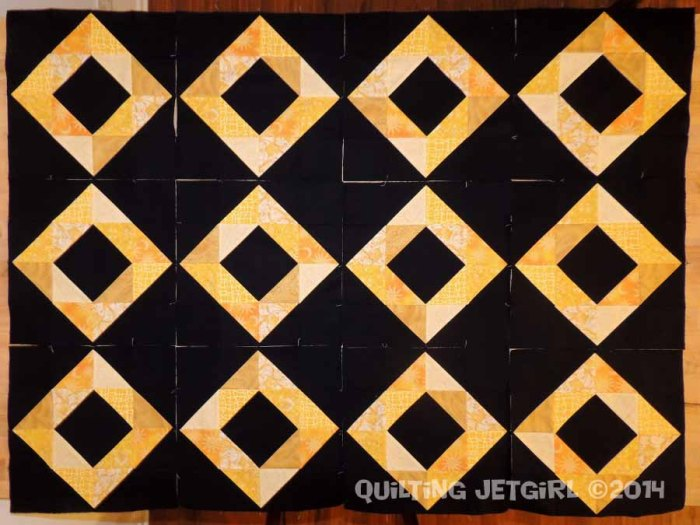 Foothills Mystery Quilt - Diamond Blocks