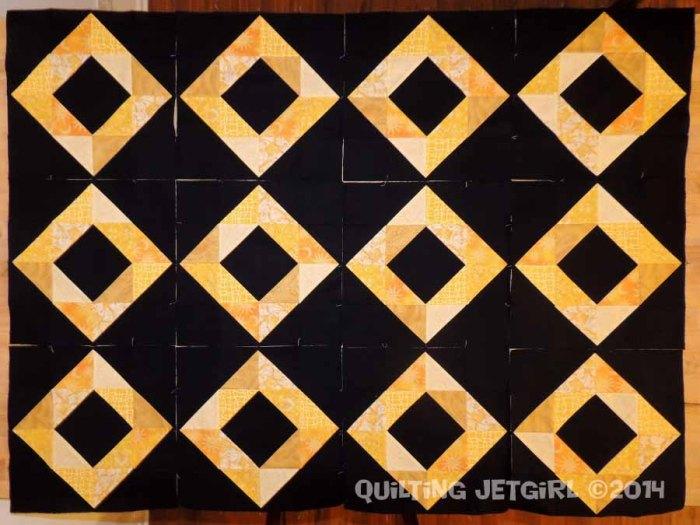 Foothills Mystery Quilt - Diamond Blocks