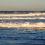 Waves at sunrise 12/28/2014
