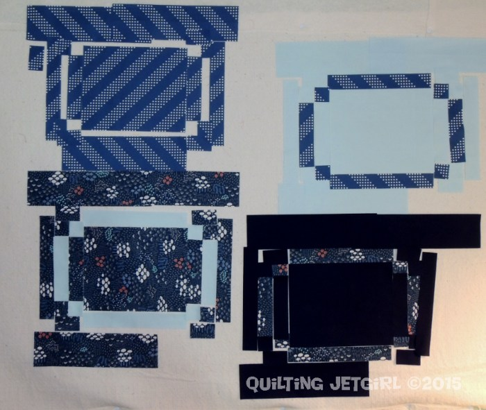 Racetrack Quilt - Fabric Prep