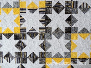 Seeing Stars Quilt Detail