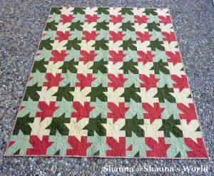 Tessellated Leaves by Shauna @Shauna's World