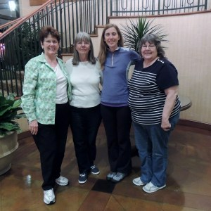 My Mother Lorna, My Aunt Cheryl, Me, and My Aunt Emma