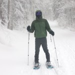QJ's Husband Snowshoeing