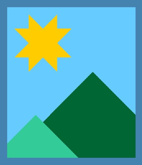 Modern Mountain Quilt