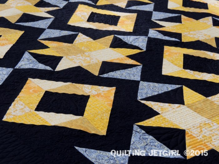 Foothills Mystery Quilt - Quilting Detail