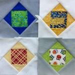 March Stash Bee Blocks: Paper Pieced Economy Blocks