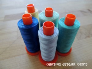 Out of the Woods - 50wt Aurifil Thread Used for Quilting
