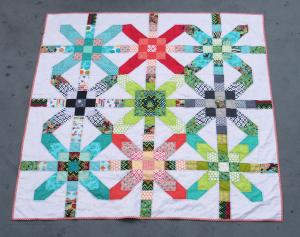 Supernova Quilt by Kate @Thread Everywhere