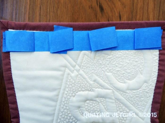 Tape Hanging Method