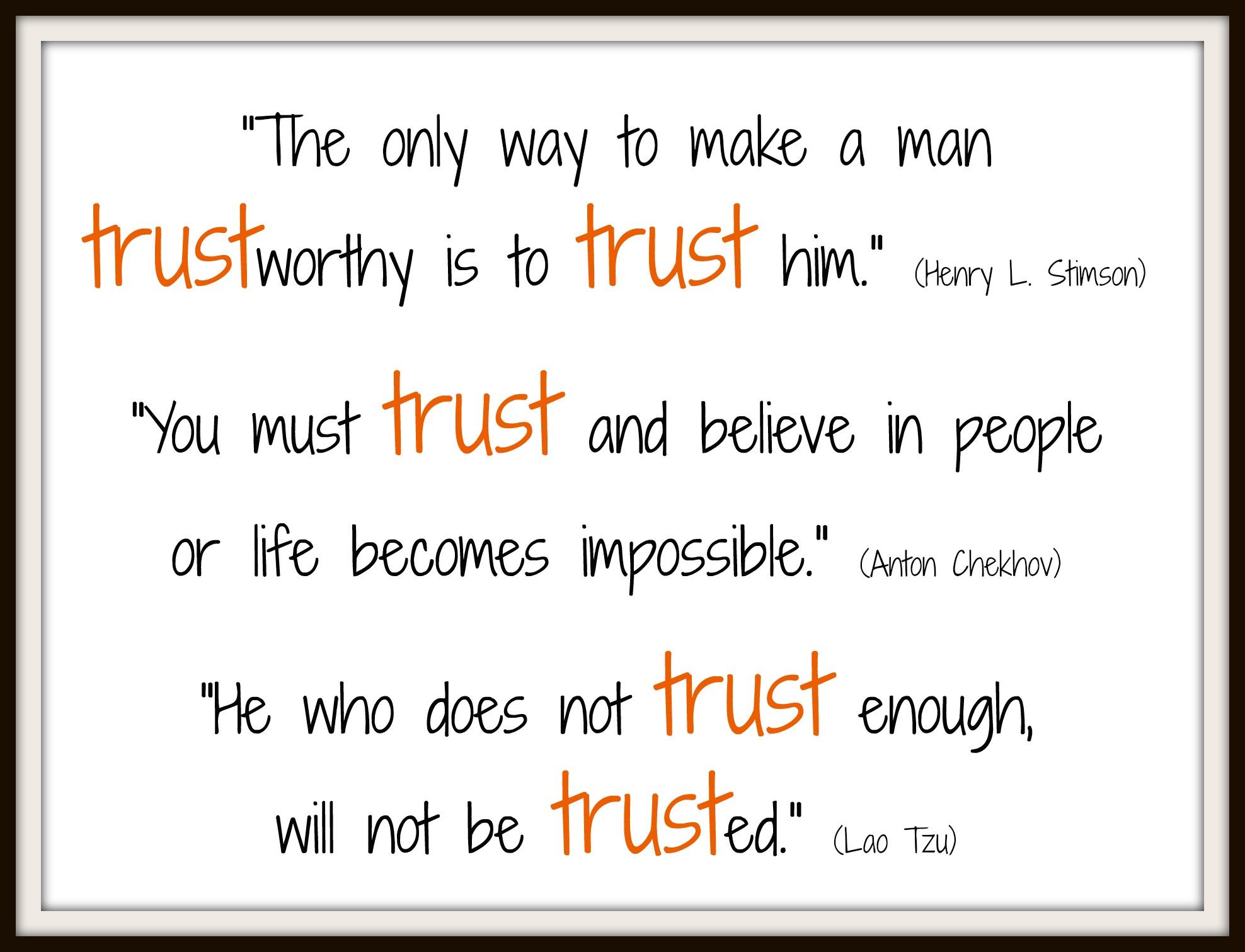 Pillars Of Character Trustworthiness Quilting Jetgirl