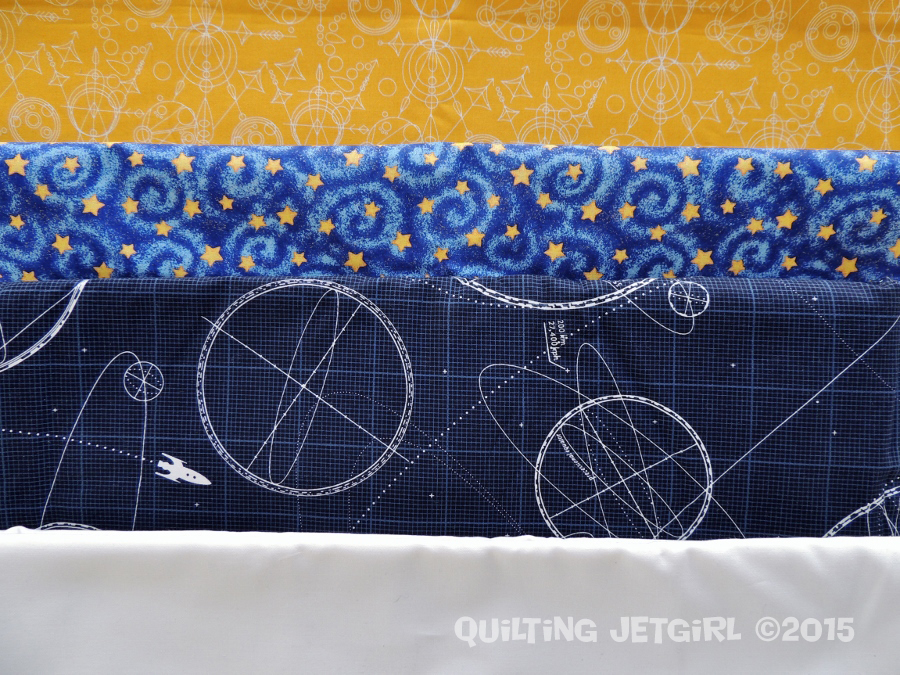 Midnight Mystery Quilt - Fabric Selection