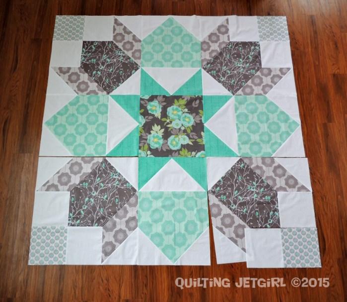 Giant Swoon Block - MQG Riley Blake Fabric Challenge