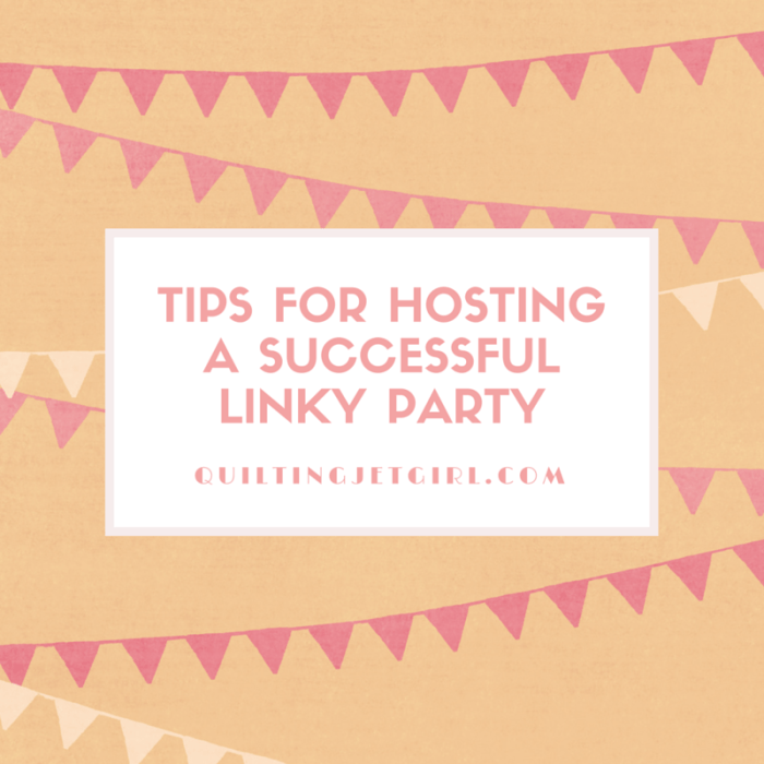 Tips for hosting a successful linky party