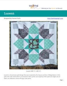Lucent Quilt Pattern