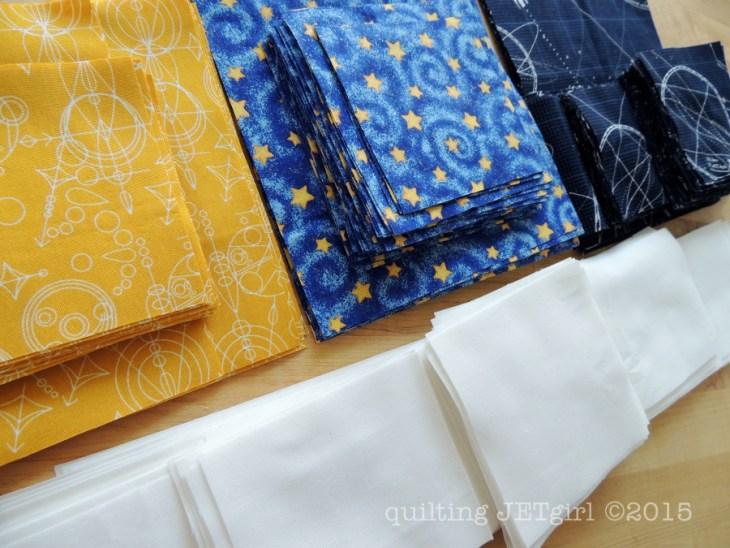 Midnight Mystery Quilt - Fabric Prep