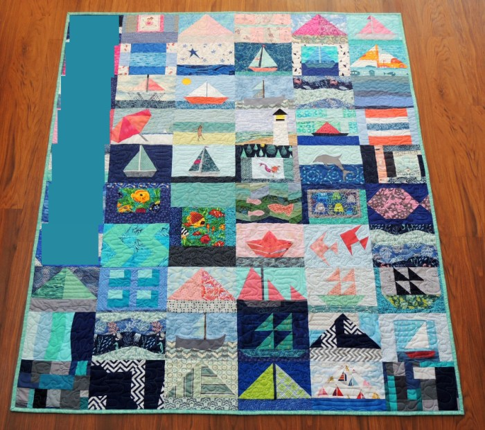 Miss A's Finished Quilt