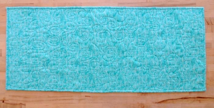Miss A Quilting - Mini Blanket