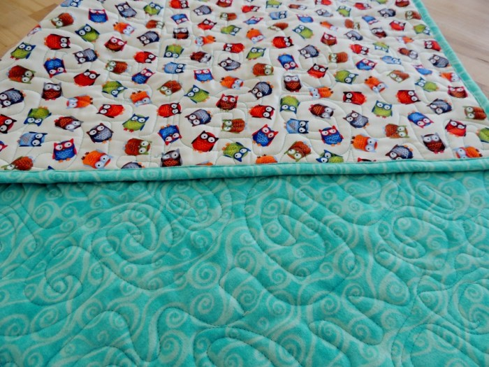 Miss A Quilting - Mini Blanket