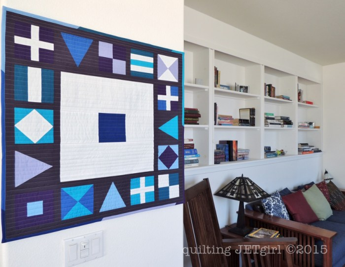 Nautical Mini Quilt