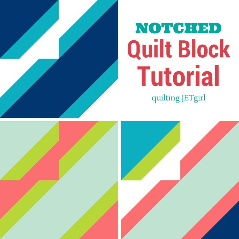 Notched Quilt Block Tutorial