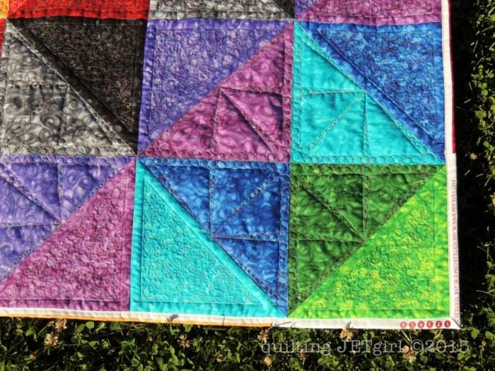Prismatic Rainbow - Selvage Binding