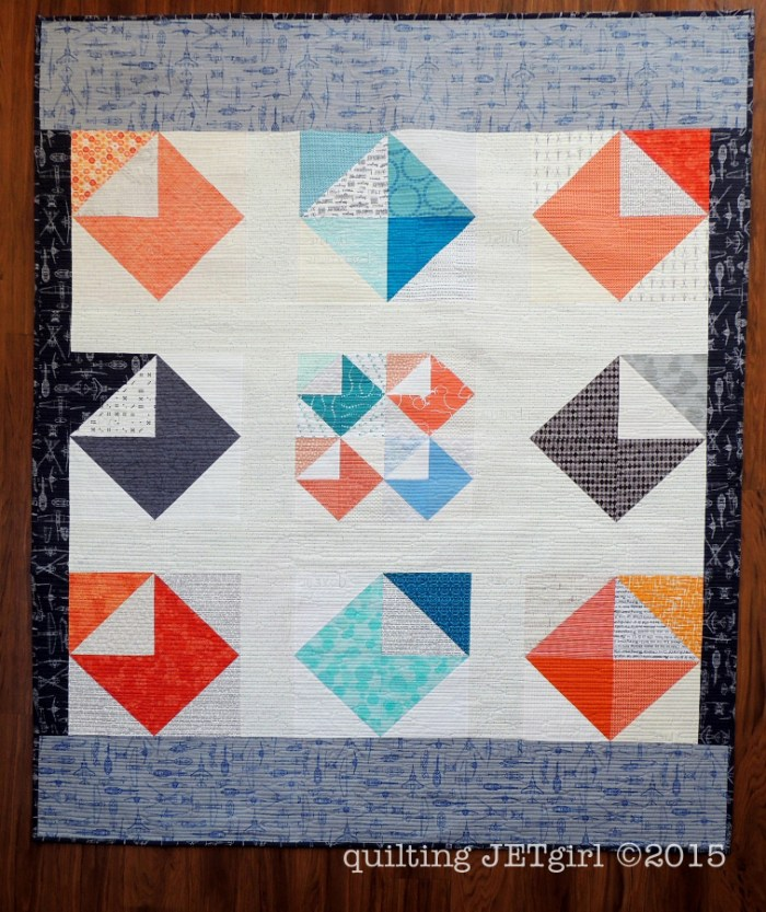 Love Letters Quilt - Backing