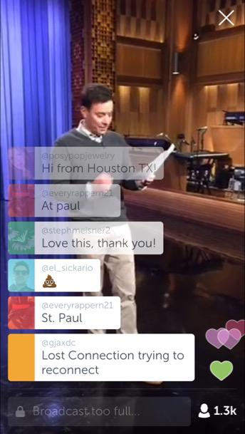 Periscope - Jimmy Fallon