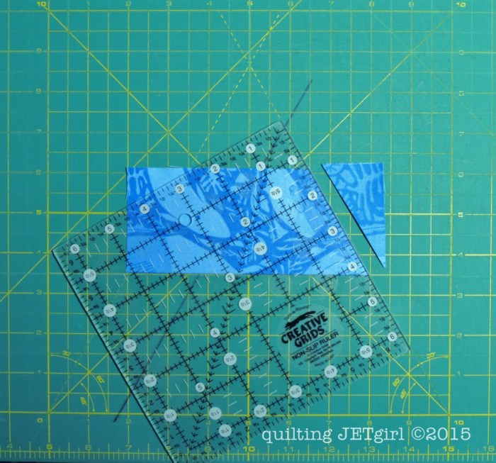 Cutting Hexies: Step 8
