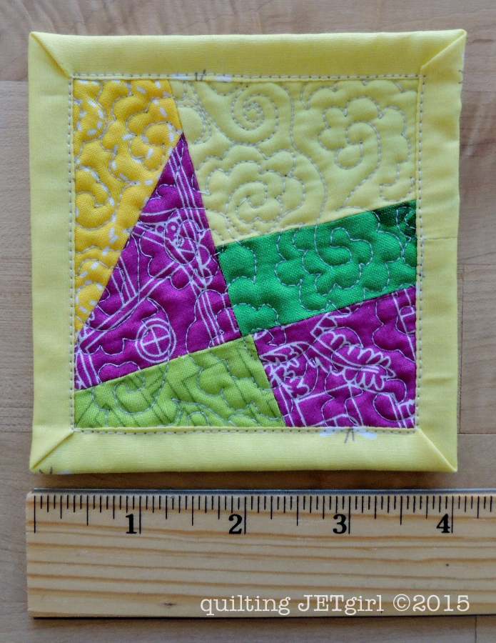 Mini Mini Quilt 20 - Bright and Cheery