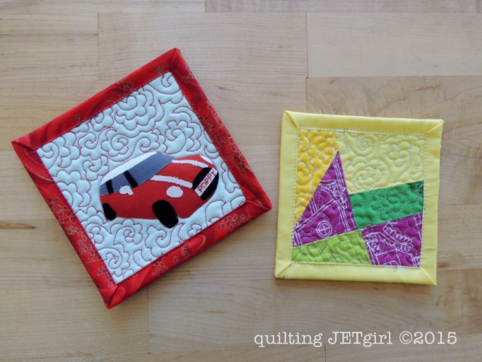 Mini Mini Quilts 19 & 20
