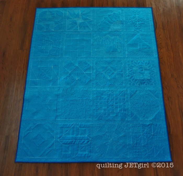Lap Charity Quilt - Backing
