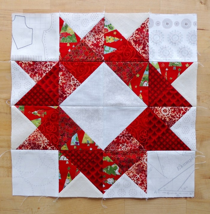 January 2016 Hive 3 - Wreath Block