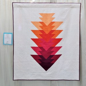 Arrowhead Quilt - Berry Colorway by Kristi Schroeder (Initial K Studio)