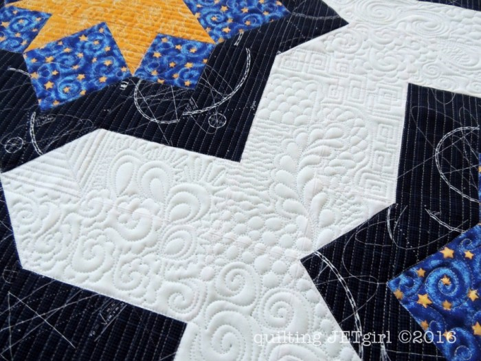 Midnight Mystery Quilt - Flow Quilting