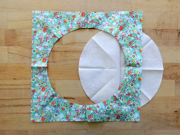 Sewing Full Circles: Preparing to Sew Seam